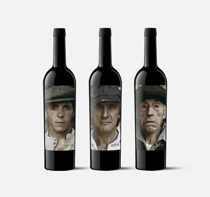 matsu - moruba  Brand and line of packaging for bio dynamically grown wines from the D.O. Toro