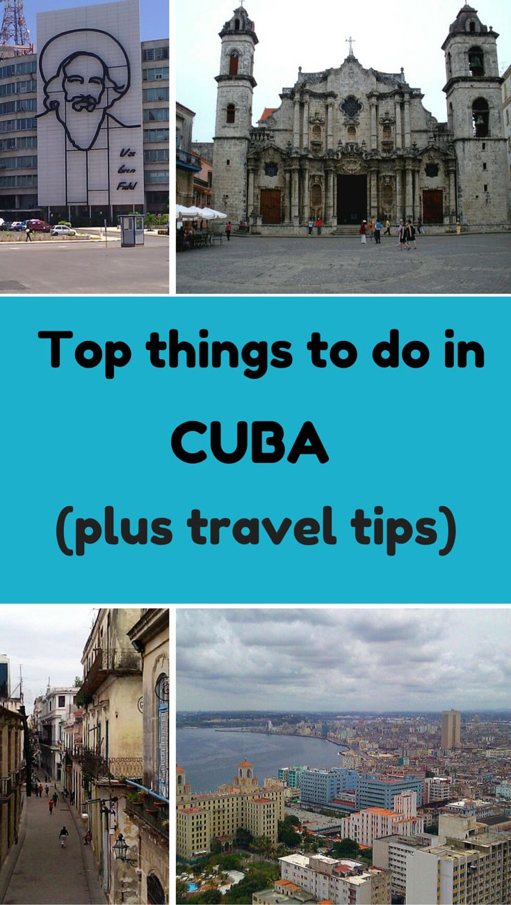 Top things to do in Cuba in a week (what to see, where to eat and more) PLUS Cuba travel tips.