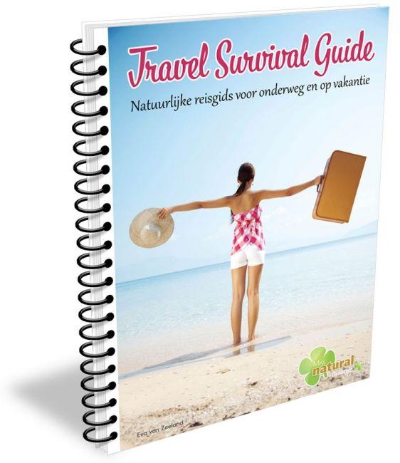 Dit e-book staat boordevol informatie en handige tips om ook onderweg en tijdens je vakantie je gezonde levensstijl te behouden. -