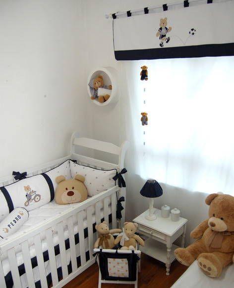 Quarto de bebê Urso Esportista | Atelie Pontinhos Magicos | 22F183 - Elo7