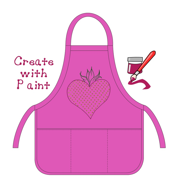 Fun ways to apply your designs to your Aprons