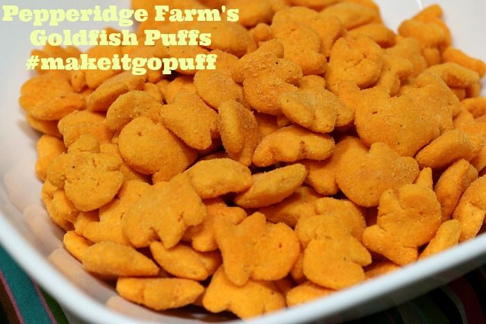 #makeitgopuff Pepperidge Farm's Goldfish Puffs