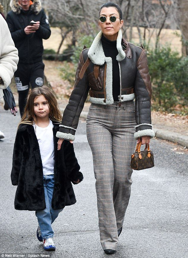 Tis the season! New York Fashion Week is just days away, and Kourtney Kardashian is the first of the reality show family to arrive