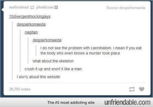 """""""Crush it up and snort it like a man."""" bahahahahahaha"""
