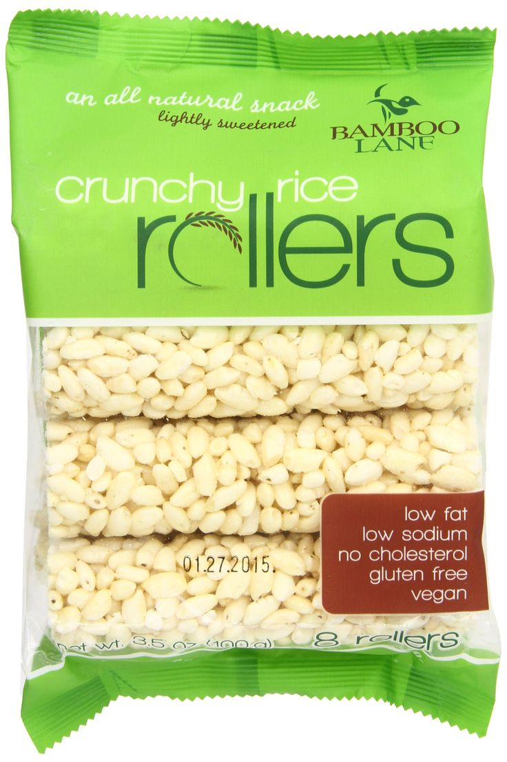 Bamboo lane crunchy rice rollers may be found at costco