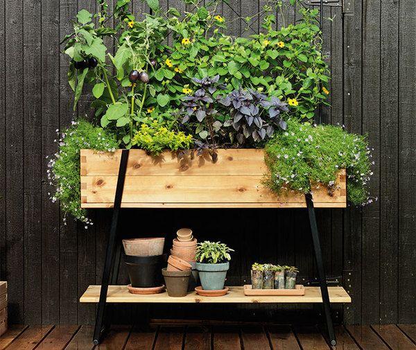 ideen f r ein kr uterregal auf dem balkon photocredits to. Black Bedroom Furniture Sets. Home Design Ideas