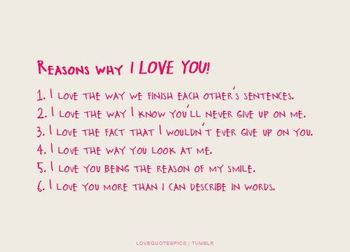 Reasons Why I Love You Quotes Love Quotes Pics Reasons Why I