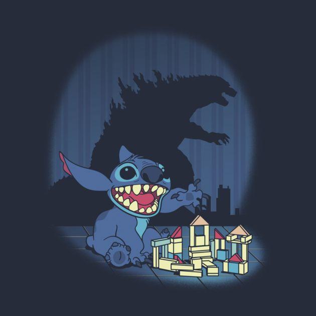 DREAM BIG T-Shirt - Stitch T-Shirt is $11 today at TeeFury!