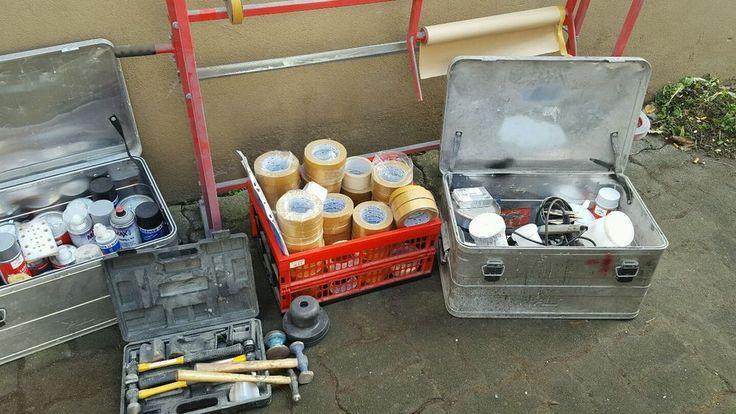 Smartrepair Material Werkstatt Aufgabe