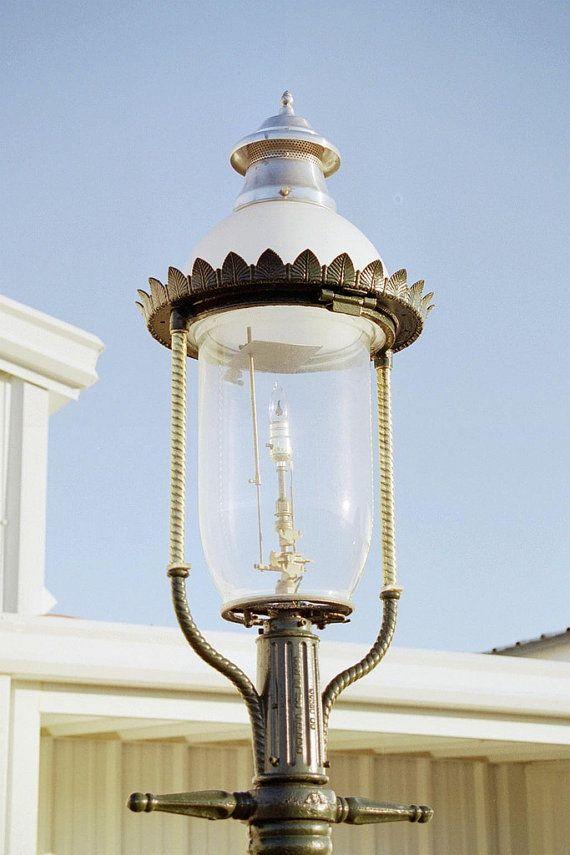 Welsbach Victorian Gas Street Lamp Philadelphia C 1890