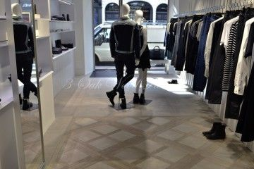 Oak Flooring in Diesel, Conduit Street, London