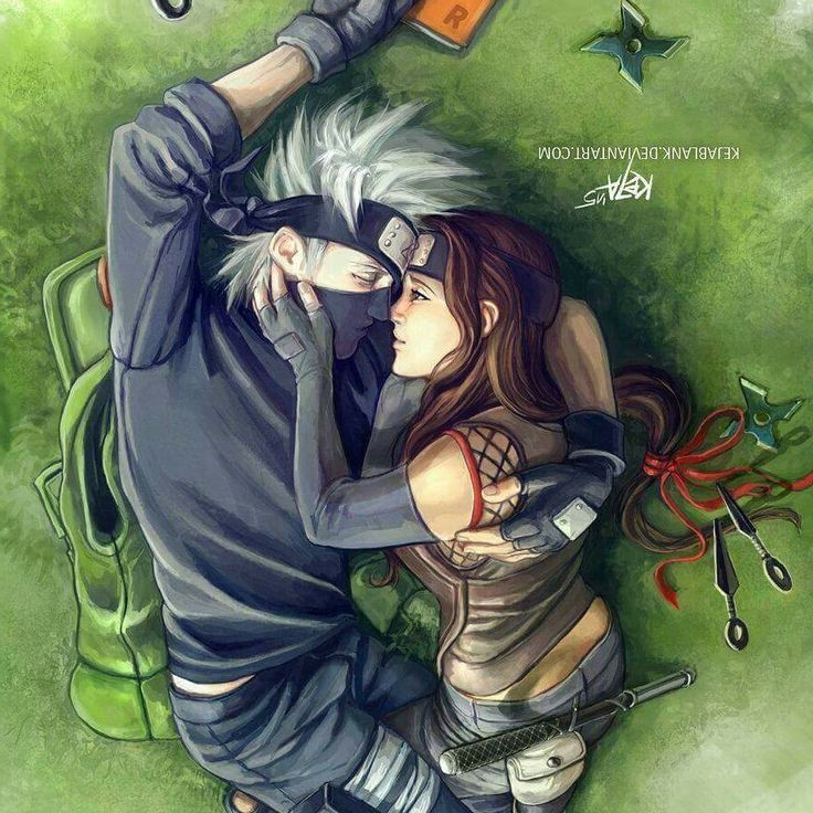 Kakashi Hatake and His Lover, Hanare ♥♥♥ #Couple #Love # ...