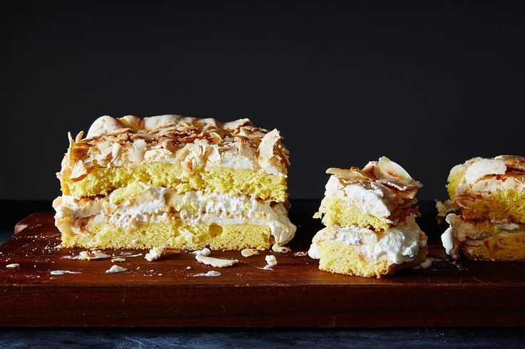"""World's Best"" cake? Maybe. But any towering Banana, Coconut, cinnamon & cardamom meringue number can compete with my taste buds anytime. Challenge accepted!"