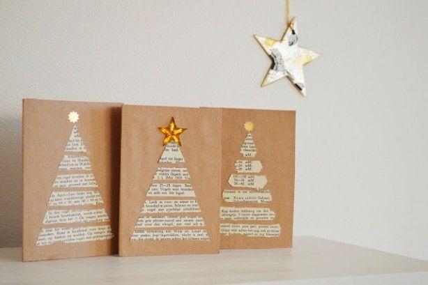 leuk idee voor een kerstkaart