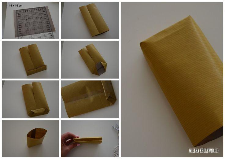 Papierowa torebka/ DIY Paperbag