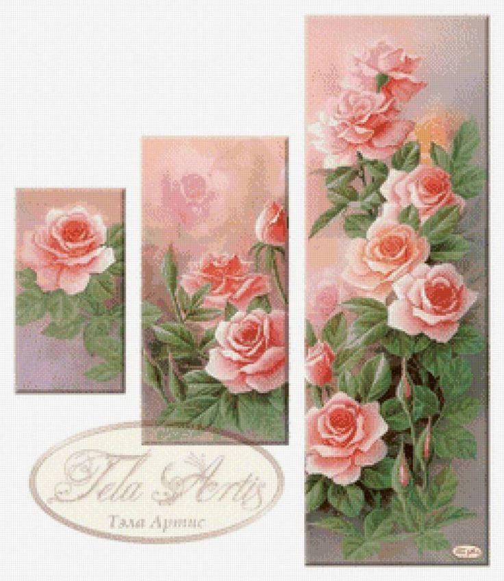триптих Розы, предпросмотр