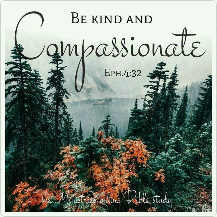 Ephesians 4:32 Tells us to be kind and compassionate to one another. We must radiate the love of the Lord to this world! . . . Join us September 19th as we begin our study in Ephesians. The Live Abundantly study book is available NOW! ( shop now button at the top of the page ).