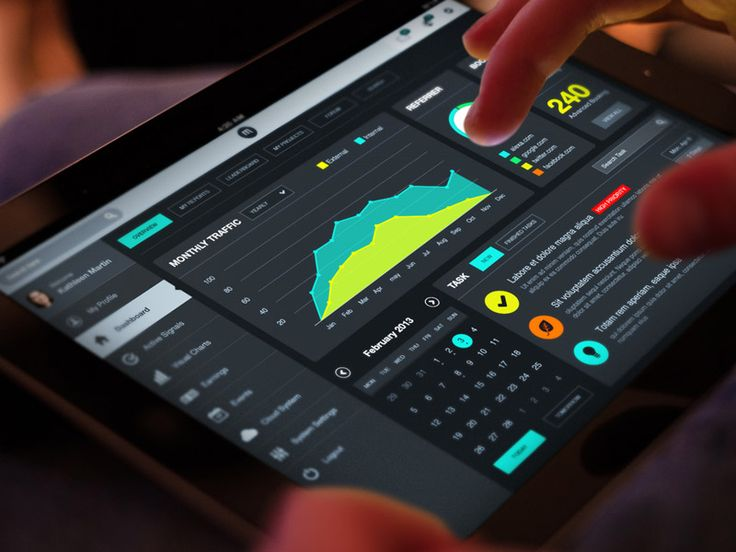 Super #Tablet #Dashboard #Ui #design #data