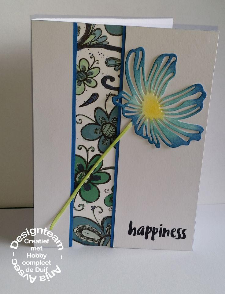 Elizabeth Craft Design - happy poppies