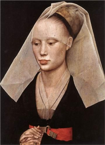 Portrait of a Lady by Roger van der Weyden (1460, National Gallery of Art, Washington DC): Modern Celebrity, How Vence Eyck, The Weyden, Vans Of, The Faces, Rogier Vans, Angelina Jolie, Classic Paintings, Art Projects
