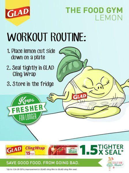 The Food Gym - How to Keep Lemons Fresh #FoodGym