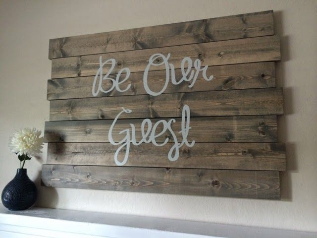 Wooden Signs. Silhouette Cameo. Vinyl Letters. DIY Wood