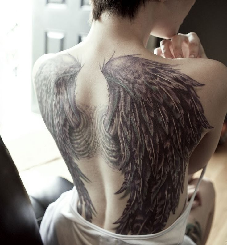 Locus Diaboli #angel tattoos #angel #wings #tattoos #back #aweosme #men #women #girls #desings #tattoo  angel tattoos