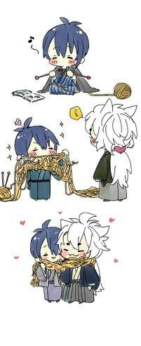 KogiMika x scarf~ they are so cute together!!!