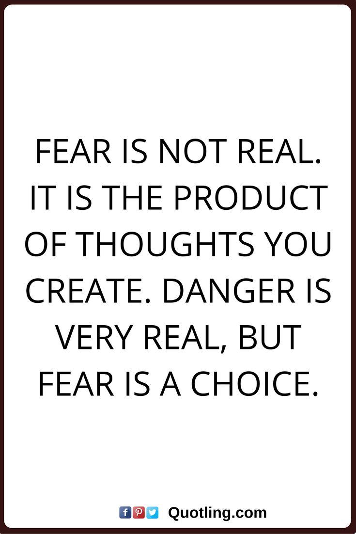 Fear Quotes Classy 15 Best Fear Quotes Images On Pinterest  Anxiety Quotes Fear