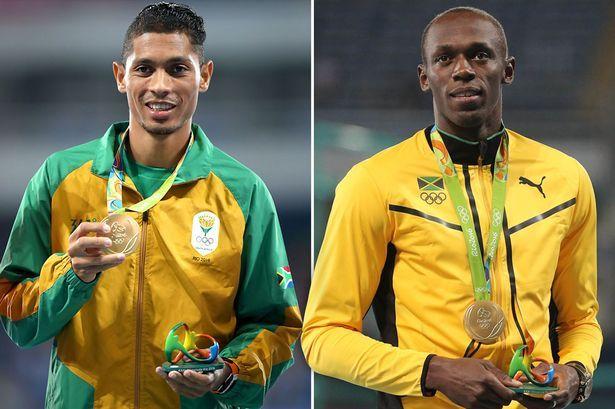 Jamaican sprint king Usain Bolt challenges fellow Olympic champion Wayde van Niekerk to 300m race - Mirror Online