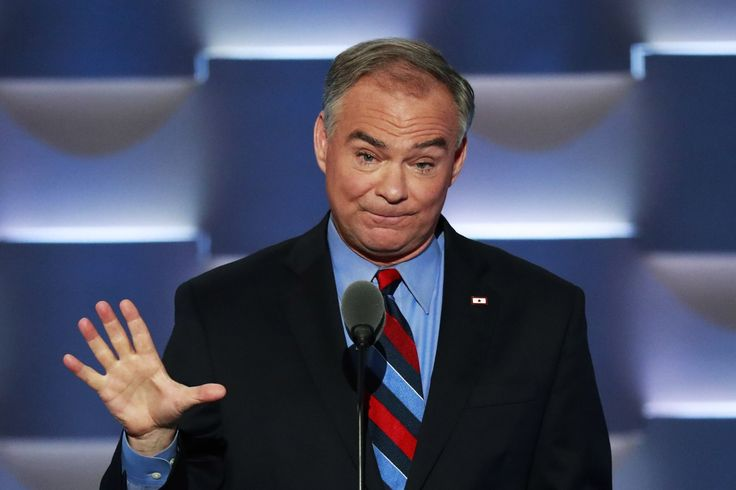 The Bernie Sanders Left Has Problems With Tim Kaine? Oh Grow Up People!