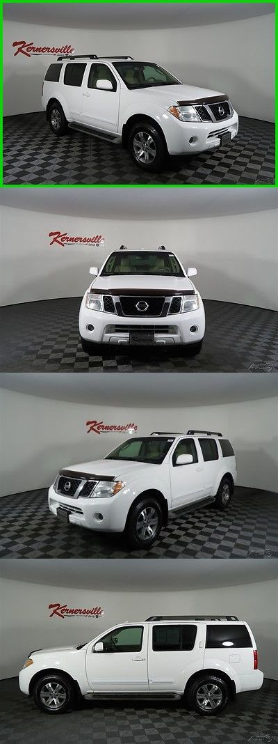 SUVs: 2010 Nissan Pathfinder Se 4X4 Suv 80227 Miles 2010 Nissan Pathfinder Se 4Wd V6 Suv Backup Camera 3Rd Row Cloth -> BUY IT NOW ONLY: $14985 on eBay!