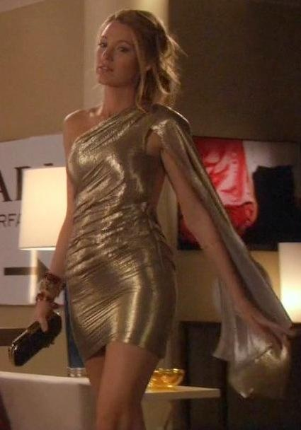 Dress – Marc Jacobs | Serena Van Der Woodsen