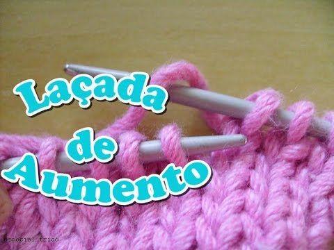 Tricô: Laçada de aumento sem formar buracos – Tricotando Crochê