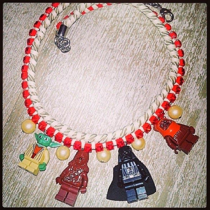 #BIJOUX #TOYS #COOL #JEWELS #JEWELRY #LEGO #STYLE #FASHION #collane #giocattolo lego @Fusa Bijoux #fashionblog #fashionblogger  bijoux, toys lego necklace, colorful, kola payes , fashion blogger blog new bijoux originali, the fashionamyblo...