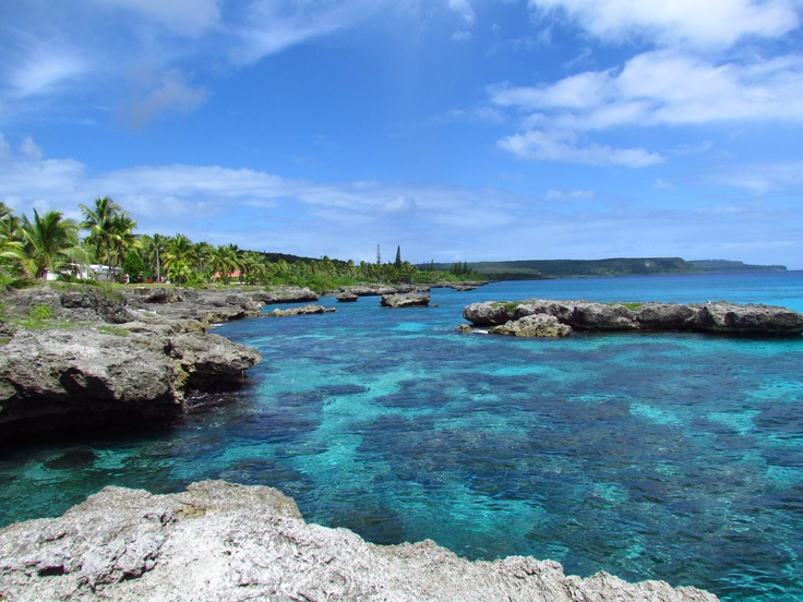 Island of Mare, New Caledonia. One of the Loyalty Islands.