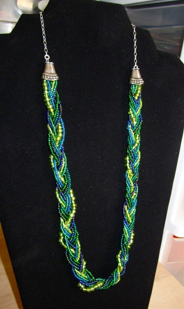 @Lori Alleman can you make this?!?  =)  Braided Necklace