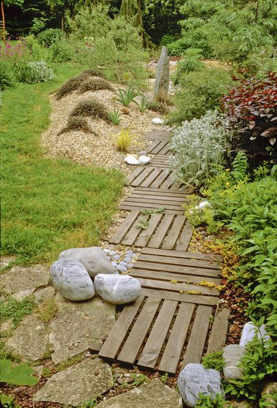 like this arrangement and landscaping esp the way the rocks are clustered.