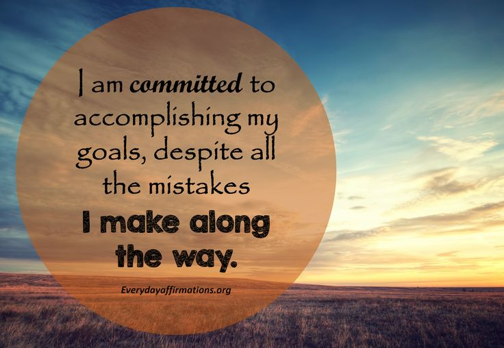 Daily Affirmations 10 May 2017