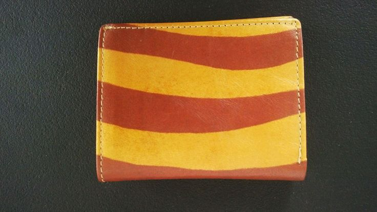 Wallet Genuine Real Leather Bifold Cardholder hand Made Men Purse Coin Pocket #Handmade #Bifold
