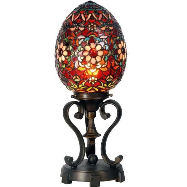 dale-tiffany-spring-egg-red
