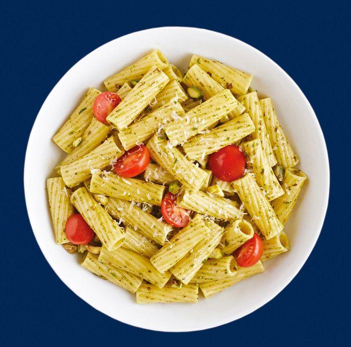 Barilla pasta recipes on box