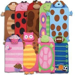 Stephen Joseph Preschool Daycare Baby Nap Mat Slumber Bag Toddler Boys Girls New