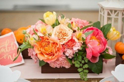 Idées pour un mariage déco avec fruits et fleurs