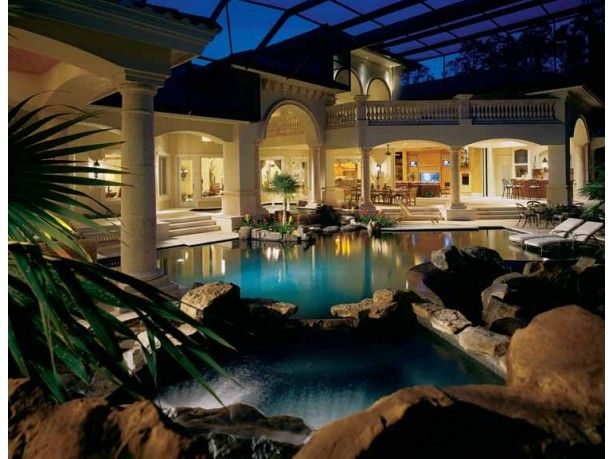 Love the pool!Design Collection, Floors Plans, Dreams Home, Home Plans, Dreams House, Sater Design, Mediterranean Home, Pools, House Plans