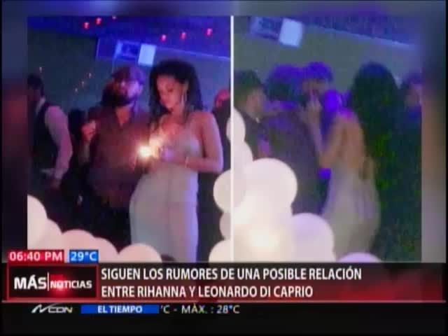 Todavía Sospechan De Relación Entre Rihanna Y Leonardo Di Caprio #Video