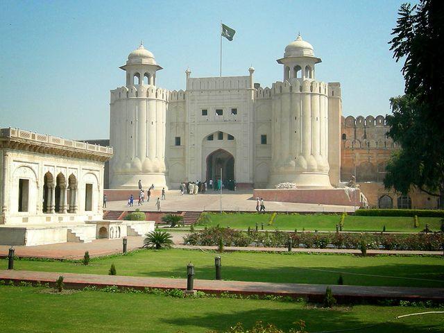 Fuerte Lahore, en Pakistán