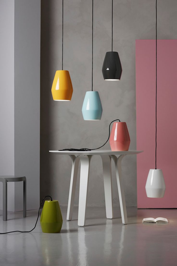 northern lighting - 'the bell' series by mark braun, made of porcelain