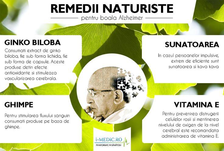 In prezent, boala Alzheimer este considerata cea mai comuna cauza de aparitie a dementei la persoanele in varsta. http://www.i-medic.ro/remedii/remedii-naturiste-pentru-boala-alzheimer