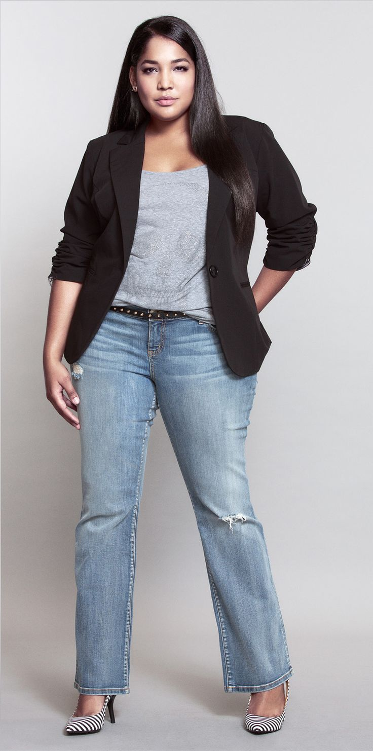 #ShopByOutfit NEW Torrid White Label Bootcut Jean - loooove!